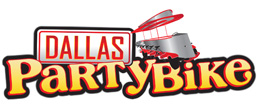 Dallas Party Bike Mobile Logo